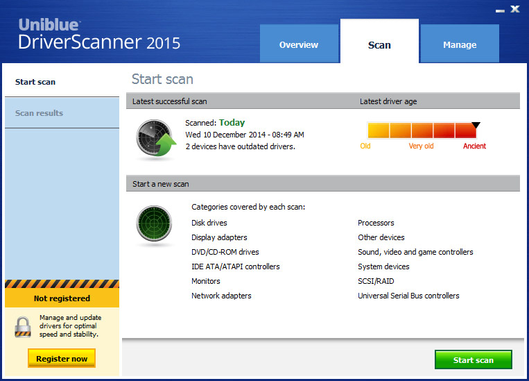 driver scanner 2015