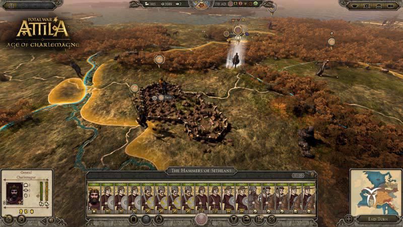 Total War: ATTILA [Update 6 + DLCs] (2 15) PC | RePack от R G