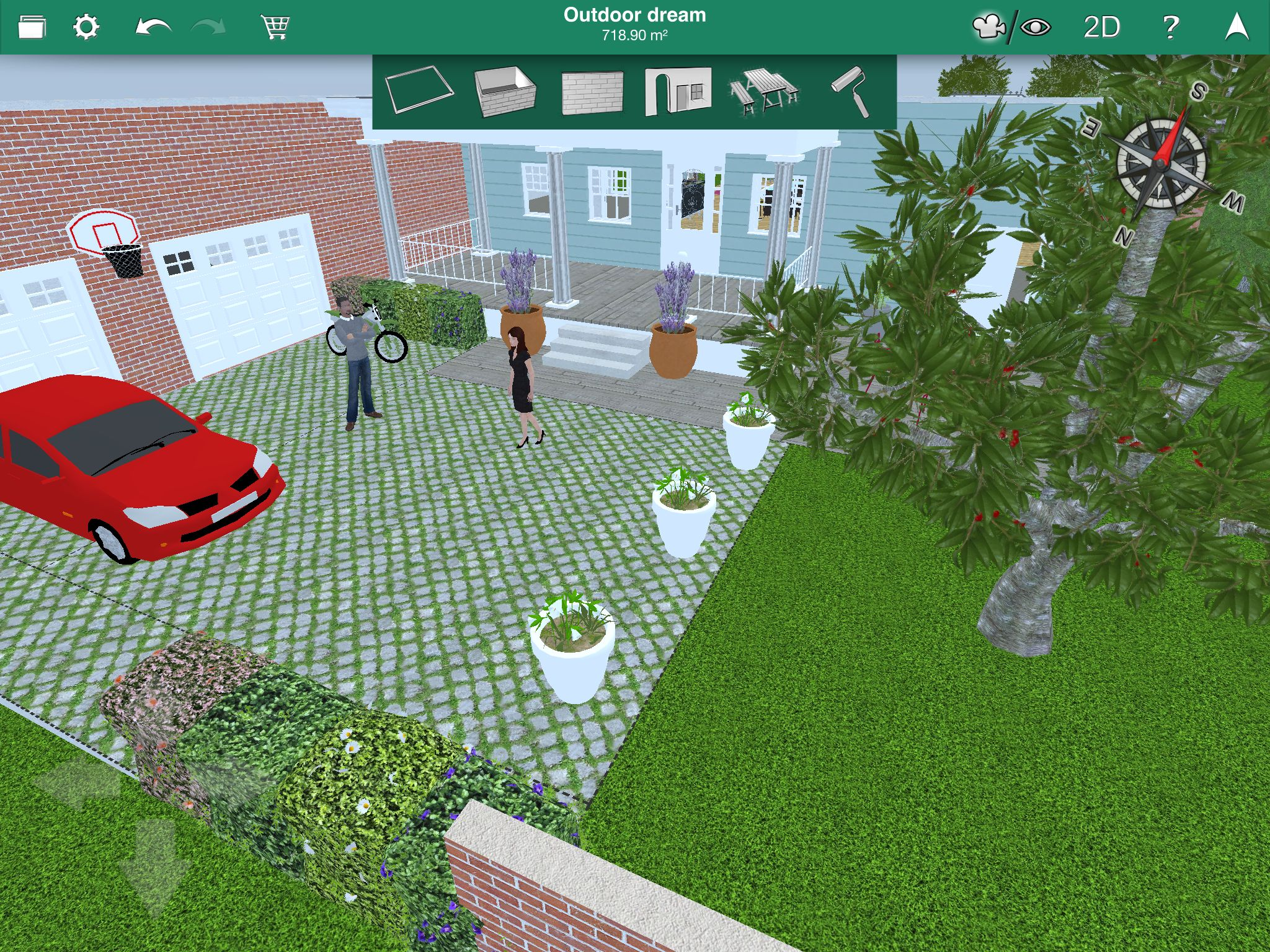 Buy home design 3d outdoor garden cd key at the best price for Home garden 3d design