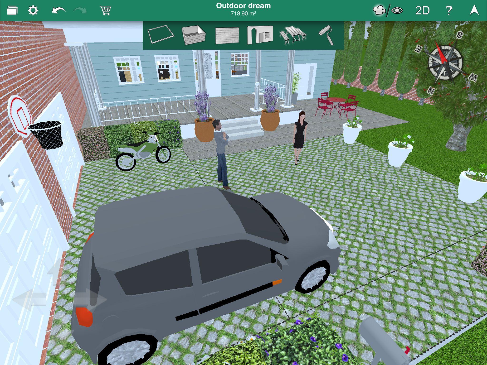 Buy home design 3d outdoor garden cd key at the best price for Home design 3d outdoor garden mod