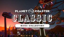Planet Coaster - Classic Rides Collection (DLC) is $5.5 (50% off)