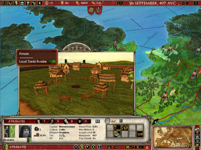 Buy Europa Universalis Rome Gold CD Key At The Best Price - Eu rome map