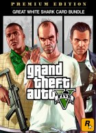 Grand Theft Auto V: Premium Online Edition & Great White Shark Card Bundle is 28.79 (36% off) via DLGamer